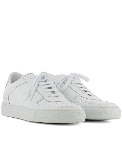 Progetti Comuni Uomini 21280506 Sneakers In Pelle Bianca