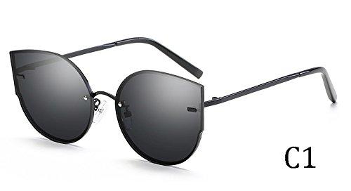 TL de mujeres sol gafas Ojo UV400 C1 de Gato C2 58035 58035 Sunglasses rIqYFxr