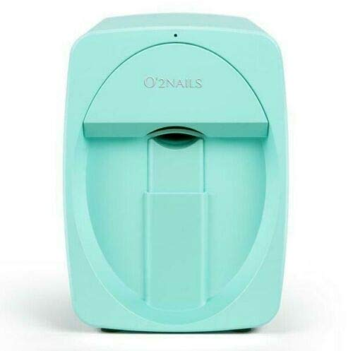 O'2nails Digital Mobile Nail Art Printer M1 (Light Blue) - Mini Portable Nail Painting Machine Control through Free Mobile App
