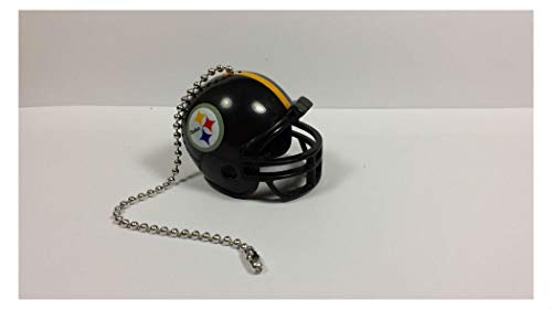 Steelers Ceiling Fan Decor - NEW Ceiling Fan Helmet Pull Chain Lamp Pull Chain Home Room Decors Souvenir Gifts (Pittsburgh Steelers)