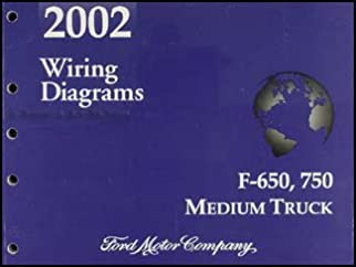 2002 ford f650 f750 medium truck wiring diagram manual original rh amazon com 2005 Ford F650 Fuse Box Diagram 2006 Ford Truck Wiring Diagram