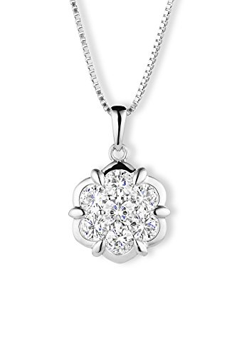Forever Classic Round Cut 4.0mm Moissanite Pendant Necklace, 1.19cttw DEW by Charles Colvard