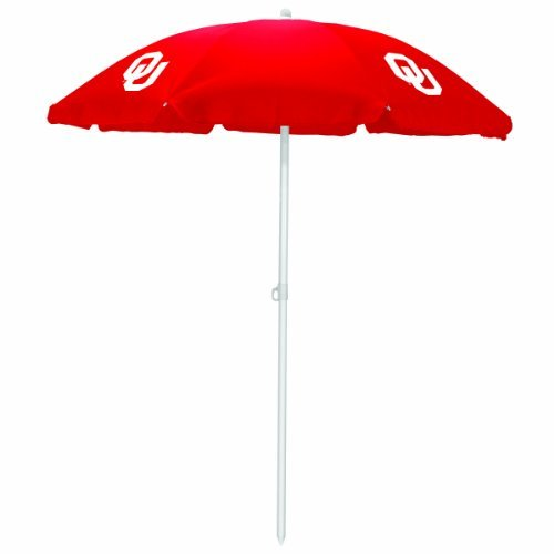 NCAA Oklahoma Sooners Portable Sunshade Umbrella by Picnic Time by PICNIC TIME