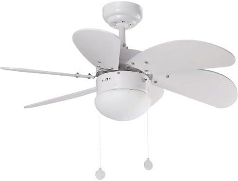 81 cm Palao 6-Blade Ventilador de techo con hojas de invierno y ...