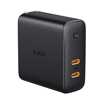 Amazon.com: AUKEY USB C Charger with 56.5W Wall Charger, One ...