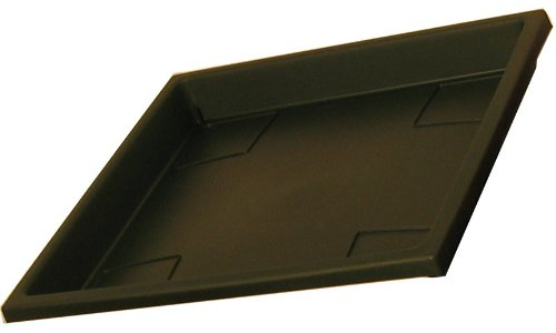 Akro Mils SRO15500B91 Evergreen Accent Square Tray for 15.5'' Planter by Myers/Akro Mills