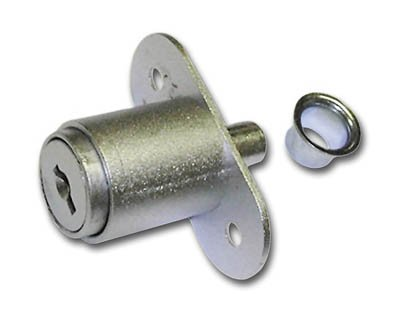 Disc Tumbler Plunger Lock by National Cabinet Lock
