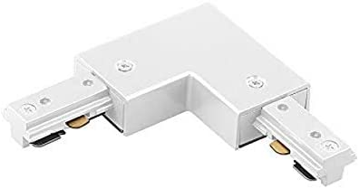 Wac Lighting Hl Right Wt H Track Right L Connector White Track Lighting Connectors Amazon Com