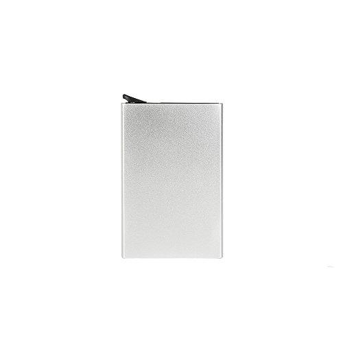 Carte Titulaire Silver Color à Argent Lovely de Multi Fonction de crédit Pince Cartes cambrioleur de Cas rabbit Silver Unisexes Billets de Alliage g5Rqxfw
