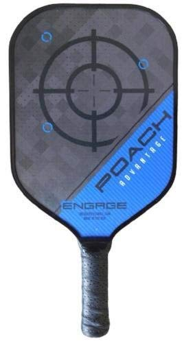 Engage Poach Advantage Black Edition Pickleball Paddle by Engage (Image #2)