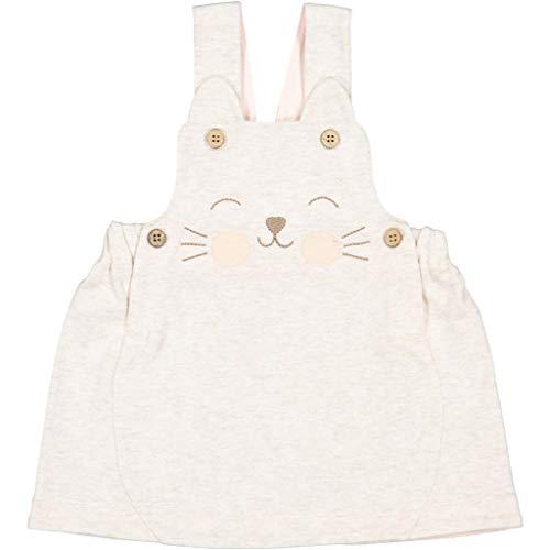 Stitch Detail Jumper - Polarn O. Pyret Kitty Stitch ECO Jumper (Newborn) - 0-1 Month/Ecru Melange