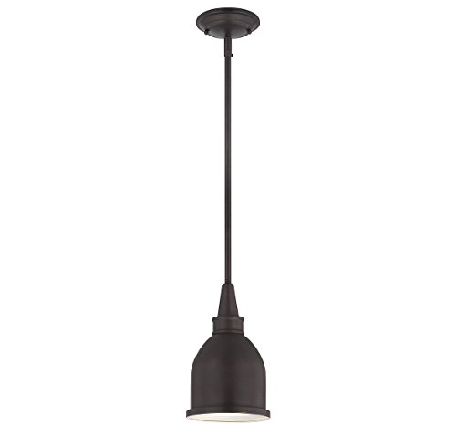 Bronze English Finish (Savoy House Lighting 7-4131-1-13 Casual Lifestyles 1 Light Mini-Pendant, English Bronze Finish)