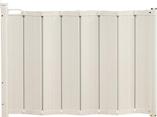 BabyDan Guard Me Retractable Safety Gate. Fits Spaces Between 21.7 – 35.2 . Mounted Height 28 – White