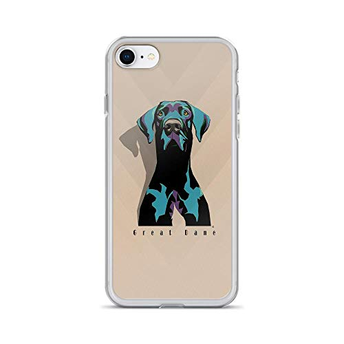 iPhone 7/8 Pure Clear Case Cases Cover Great Dane Dog Digital Art Animal Lover