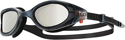 (TYR Special Ops 3.0 Swim Goggles - Polarized Silver/Smoke/Black, One Size)