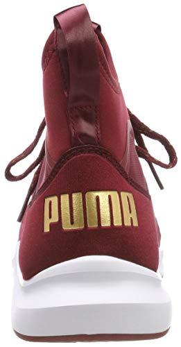 puma Varsity White Pomegranate Femme Rouge Fitness Puma 02 Wn's Chaussures de Phenom C5zZqZ16