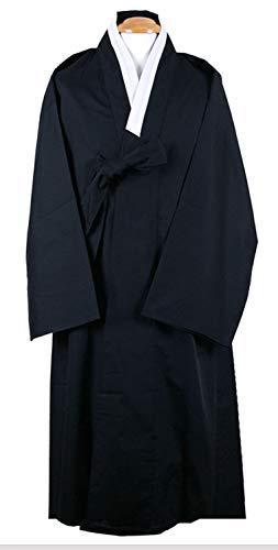 Men Outer Coat Korean Traditional Clothes Durumagi Robe Halloween Costume
