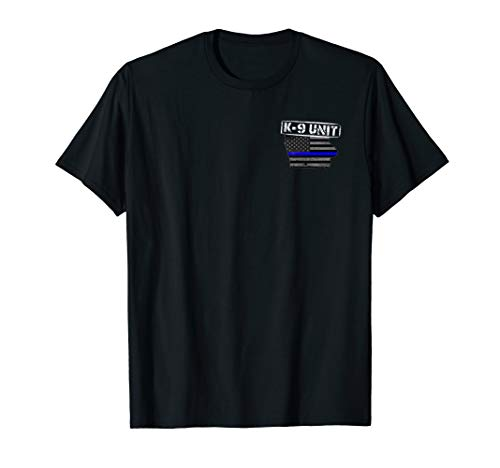 Iowa K-9 Police Officer T-Shirt LEO Law Enforcement -