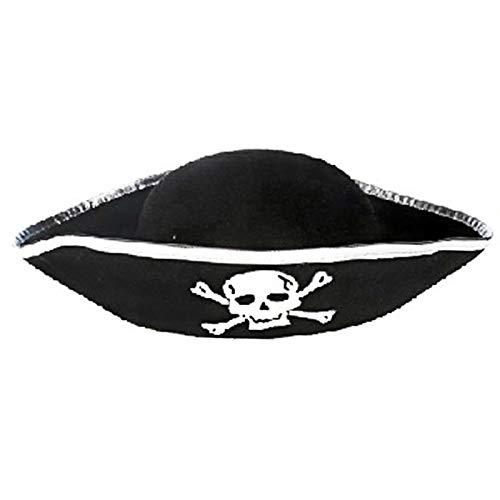 BYNNIX-Toy Tri Corner Pirate Hat - Three Cornered