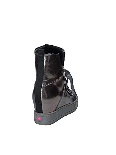 Black Meti 4 Fornarina Top Trainers Hi Grey Women's n5Hx6g6qWC