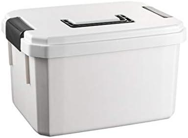 救急箱 薬箱 収納箱 ツールボックス 応急ボックス 収納ケース 携帯 大容量 かわいい 取っ手付き 緊急 防災 薬入れ 小物入れ ホワイト 20.5*14.5*12.5cm 24.5*18.5*14.5cm 29*22*17cm 34*26.5*20cm