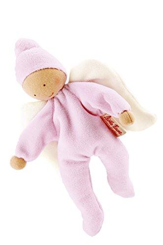 Kathe Kruse Nickibaby Angel Grabbing Toy Baby Doll, Pink ()