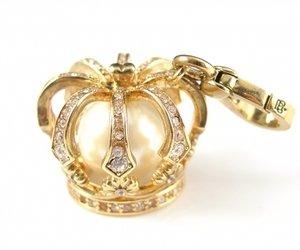 Juicy Couture Crown Charm (Gold) - Juicy Crown