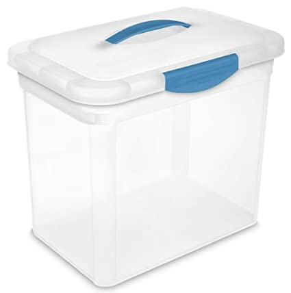 Amazoncom STERILITE 18968606 Large ShowOffs Storage Container