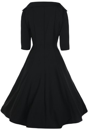 Lindy Bop 'Marla' Jackie O Style 50's Swing Dress