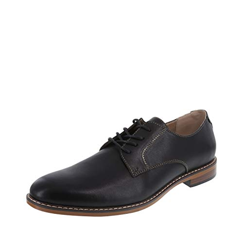 Dexter Men's Black Men's ALEC Plain-Toe Oxford 14 Regular