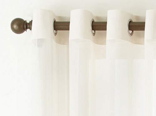 Liz Claiborne Lisette Grommet-Top Sheer Curtain Panel 50