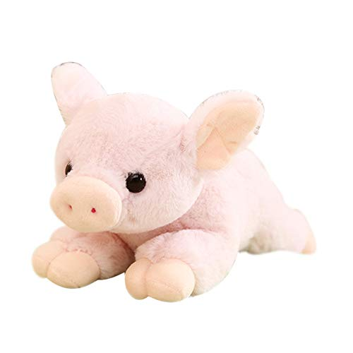 Finance Plan 25/30cm Simulated Animal Pig Plush Toy Soft Stuffed Sleeping Doll Birthday Gift -
