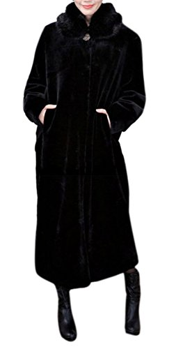 Full Length Womens Mink Coat - 2