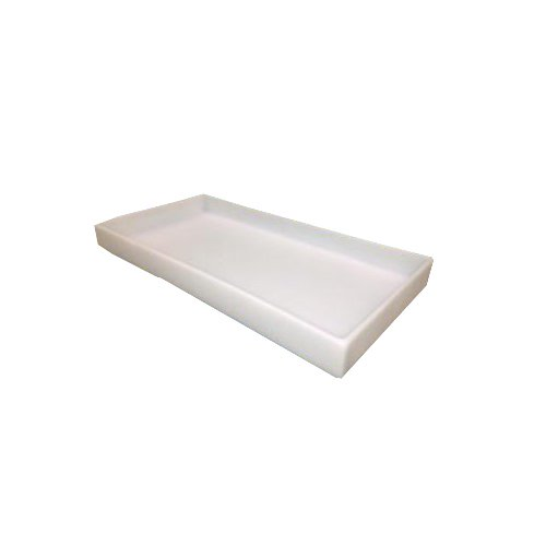 Scientific Plastics T522818-201 Spill Containment Tray, 2' Side Wall, 18' W x 28' L 2 Side Wall 18 W x 28 L 1189Y33EA