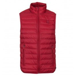 103efaf0 Armani Jeans Deep Red Padded Quilted Gilet-Extra Small: Amazon.co.uk ...