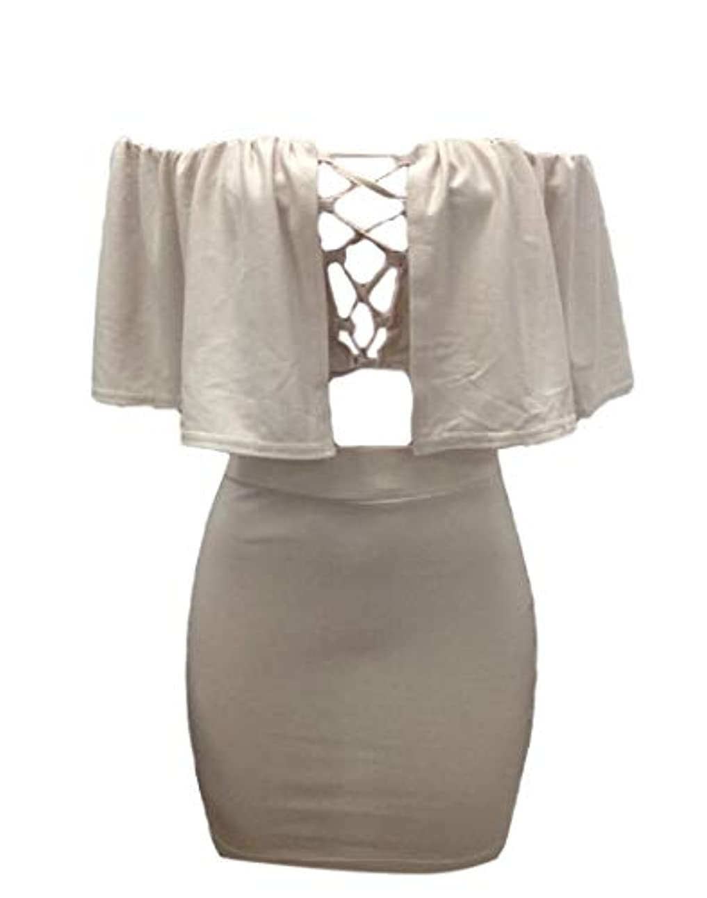 過半数ディベート相談maweisong Womens Sexy Hollow Out Lace up Crop Top Lace up Skirts Set 2 Piece Short Mini Skirt Outfits