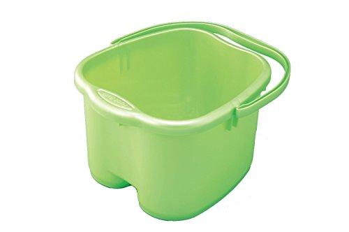 Inomata Green Foot Detox Massage Spa Bucket (Soaking Feet)