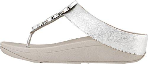 Fitflop Femmes Halo Orteil String Sandale Argent