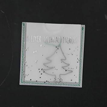 Weihnachtsgrüße Als Tannenbaum.Good Old Friends Kleine Weihnachtsgrüße Tannenbaum Amazon De Küche