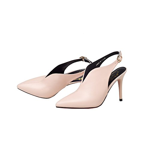 Chaussures 12CM rose 5 Vaneel Glisser Sur 34 Femme Escarpins qcfusp Cônique gwg0CaTFq
