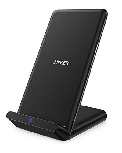 Anker PowerPort Wireless Charger, Qi-Zertifizierter Kabelloser Ladeständer...