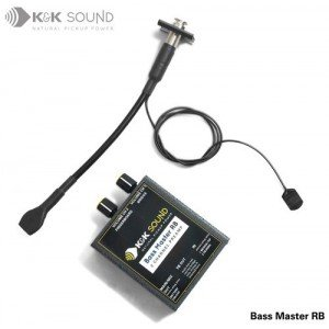 K&K Sound Bass Master RB Plus Rockabilly Upright Bass Pickup w/Preamp (Preamp Upright Bass)