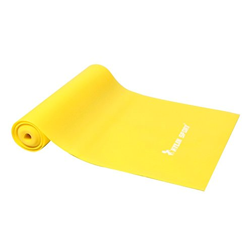 KYLIN SPORT 6.5 ft Fitness Resistance Bands Home Gym Yoga Pilates Equipment for Strength Training, Physical Therapy, Pilates, Stretch, Arm, Leg, Back, Abs & Chair Workout