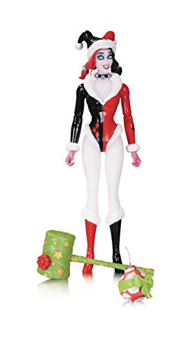 DC Comics Designer Series: Holiday Harley Quinn Action Figure by Amanda Conner
