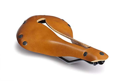 Selle Anatomica X Series Leather Bike Saddle for Comfortable Racing Long and Short Distances Watershed Vintage with Gunmetal Rivets