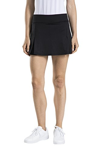 Prince Tennis Apparel - Prince Women's Knit Athletic Skirt,Black,XS