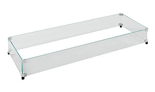 - Outdoor Great Room Glass Guard Fencing for CF-1242 Burner