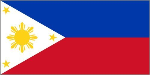 Anley |Fly Breeze| 3x5 Foot Philippines Flag - Vivid Color a
