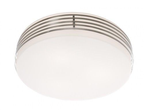 Artcraft Lighting Flushmount 3-Light Flush Mount Light, Chrome