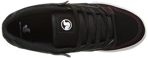 DVS Men's Militia CT Skateboarding Shoe Black Rasta choice for sale DeHKB6n4xs
